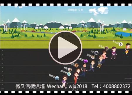 微信现场马拉松互动游戏